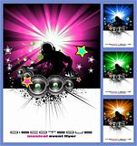 Disk Jockey Music Background