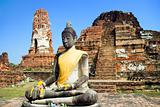 Thai Buddha and Temple