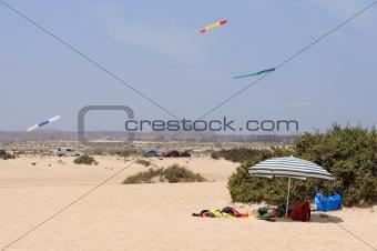 Beach at Corralejo, Canary Island Fuerteventura, Spain