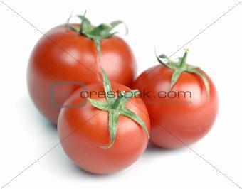 three tomattos