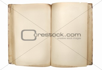 old retro book