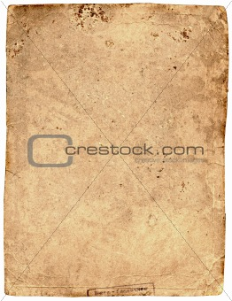 old tattered textured paper