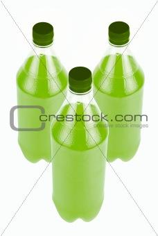 Three Green Juice bottle