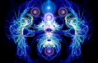 A mystic figure