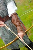 bow / medieval armor