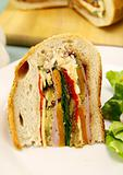 Savory Cob Loaf Slice