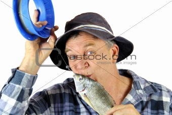 Kissing Fisherman