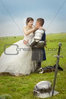 long-awaited meeting / Princess Bride and her knight