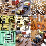 Printed circuits collage