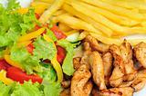 healthy lunch dish