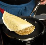 Chef making pancakes