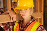 Female Constructin Worker