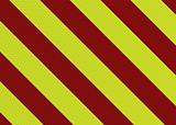 modern warning stripe