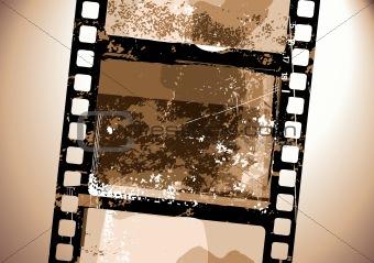 Grunge Film pattern