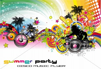 Colorful Discoteque Flyer