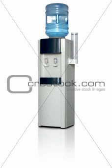 Office water dispenser.