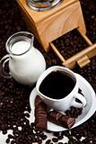 Milk caffeee