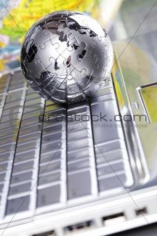 Chrome globe