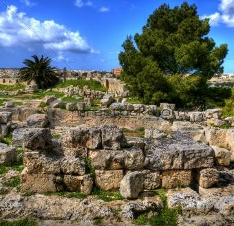 Ancient Contrustion site in Malta