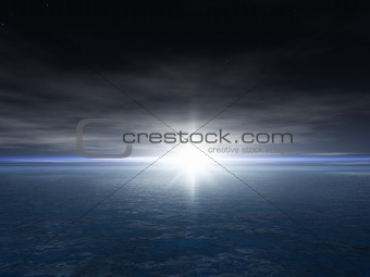 Bright Star Background