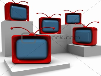 abstract tv background