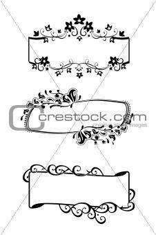frames set / vector
