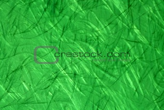 Green fiber glass texture background