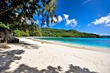 beautiful beach on seychelles