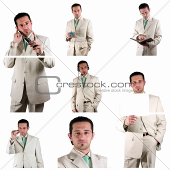 Businessman - Collage