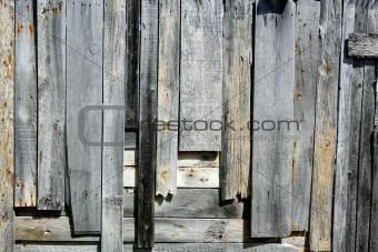 Aged gray sea coastline wood texture background