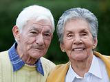 Elder couple