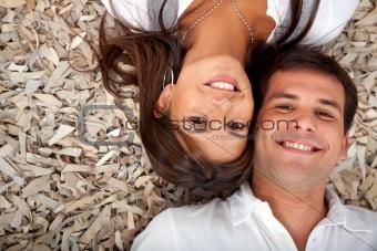 Couple on the floor