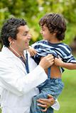 Male pediatrician