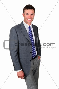 Portrait  businessman