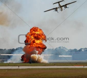 Aerial bombardment