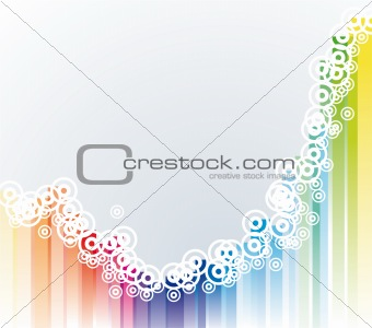 Abstract Colorful Background for Flyers