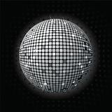 Shiny disco ball greey