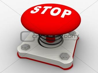 Green start button