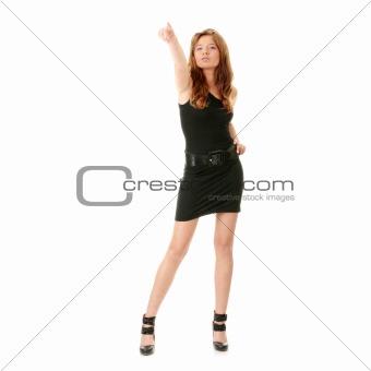 Catwalk fashion model