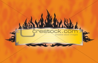 Flame Banner