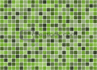 Tiled green background