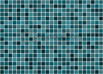 Tiled turquoise background