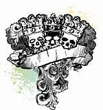 3 Skull Kings Banner