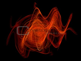 abstract flame background 7