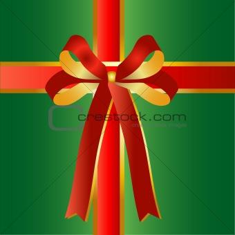 green present background