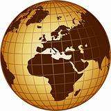 globe europe and africa