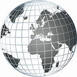 grey globe