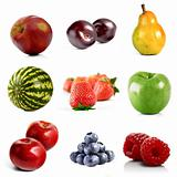 VArious fruits composition