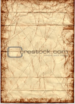 Antique Paper with Grunge Color