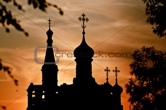 church silhouette
